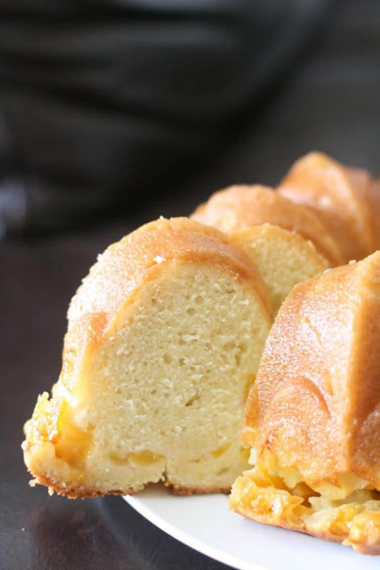 Peach Bundt Cake Recipe Just A Pinch Recipes