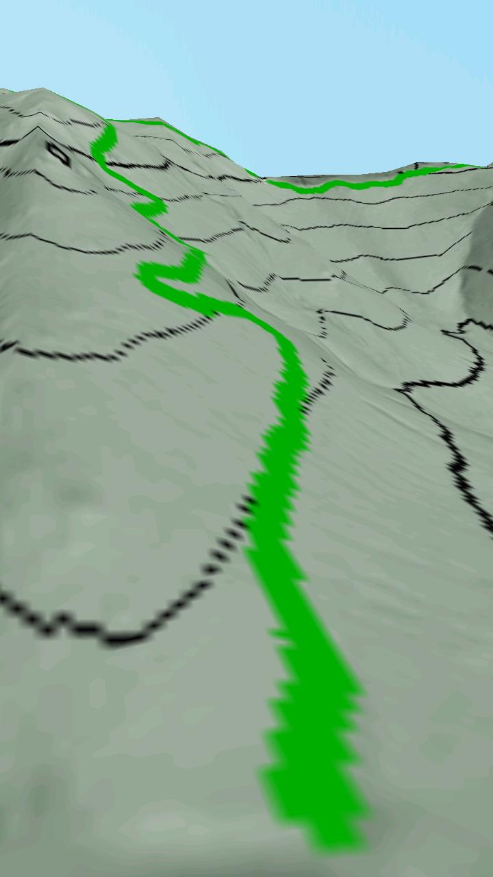 Скриншот Cuerda Larga 3D Map