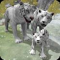 Snow Tiger Family icon