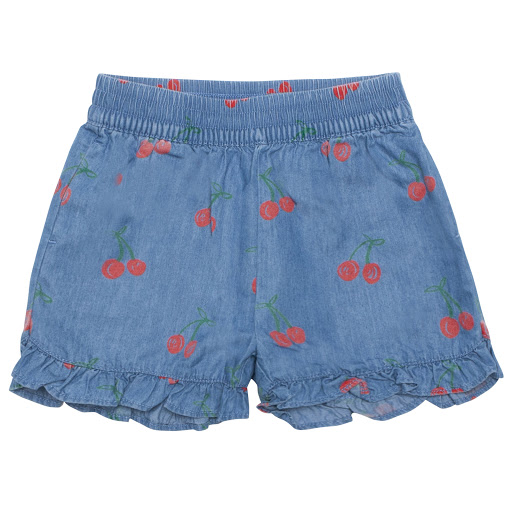 Primary image of Stella McCartney Cherry Denim Shorts