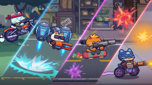 Cat Gunner: Super Zombie Shooter Pixel filehippodl screenshot 2