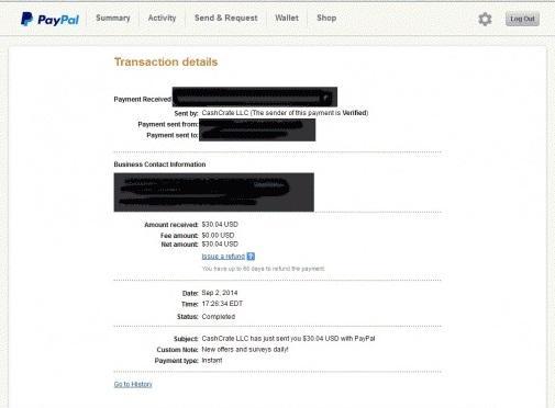 Cash Crate Paid Surveys App