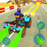 ATV Quad Bike Racing Game 2020 Bike Shooting Games icon