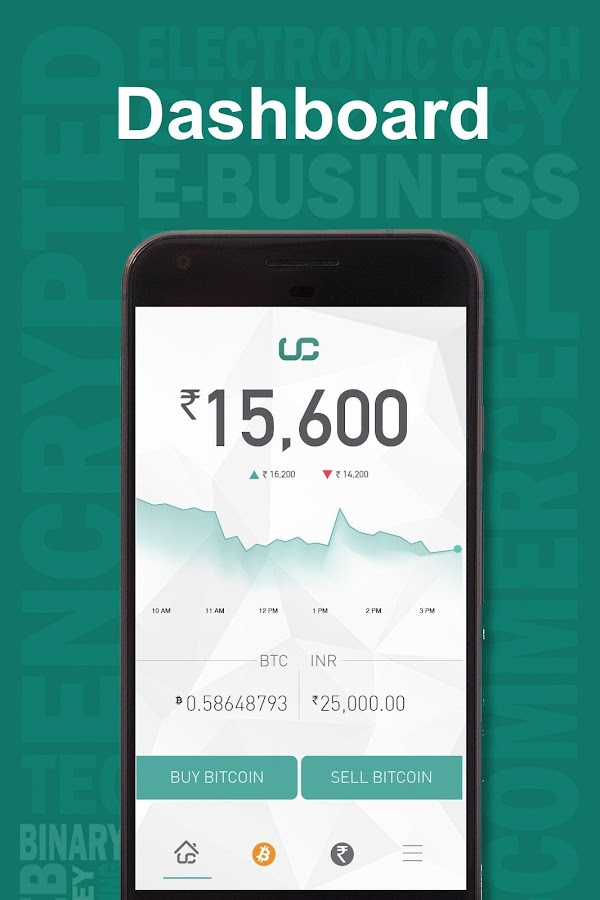 Unocoin Bitcoin Wallet India- screenshot
