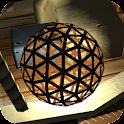 Wicker ball icon