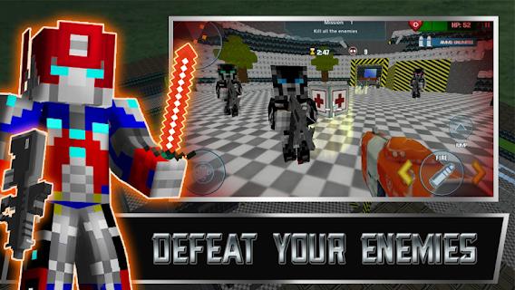 Transforming Survival Games screenshot 00
