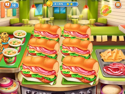 Cook It! Madness of Free Frenzy Cooking Games City Screenshot