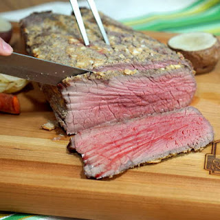 Mustard Crusted Roast Beef