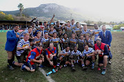 Western Province celebrate winning the 2018 Craven Week during the 2018 Craven Week Final Rugby match between Western Province and the Sharks at Paarl Boys High, Paarl on 14 July 2018.