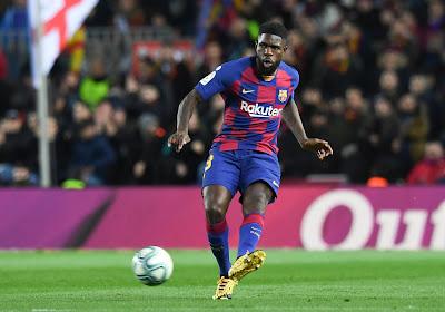 Samuel Umtiti se blesse dès la reprise des entraînements au Barça