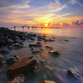 Morning Beltim by Imansyah Putra - Landscapes Sunsets & Sunrises ( sunrise, beltim, landscape, belitung )