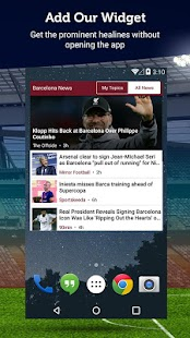 Barcelona News - Sportfusion- screenshot thumbnail