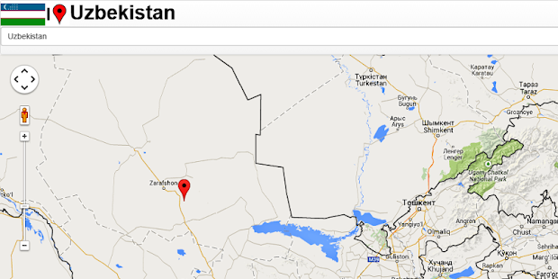 Uzbekistan Map Android Apps On Google Play - Taraz map