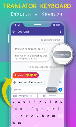 Spanish English Translator Keyboard ss3
