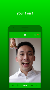 gridMe encrypted HD video chat- screenshot thumbnail