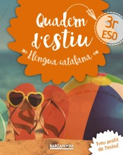 Portada de Llengua catalana 3r ESO Quadern d'estiu