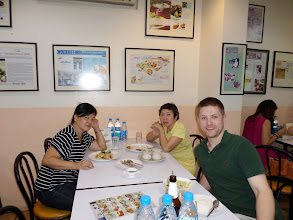 Photo: Me and some friends I made at Krua Apsorn
