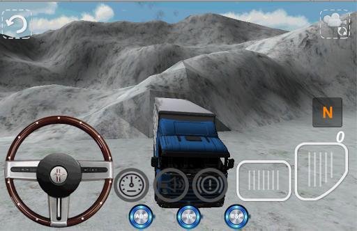 Karda Tır Simülatör Oyunu