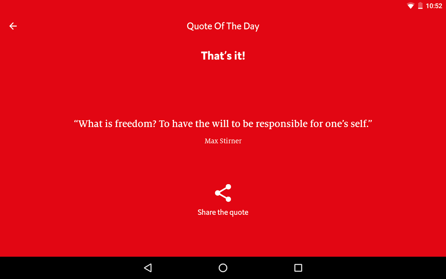 The Economist Espresso- screenshot
