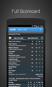 Cricbuzz Cricket Scores & News v3.1.9