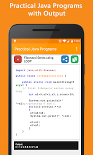 Java Programs and Questions screenshot