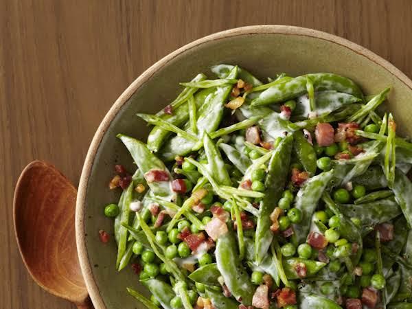 Creamy Spring Peas Recipe