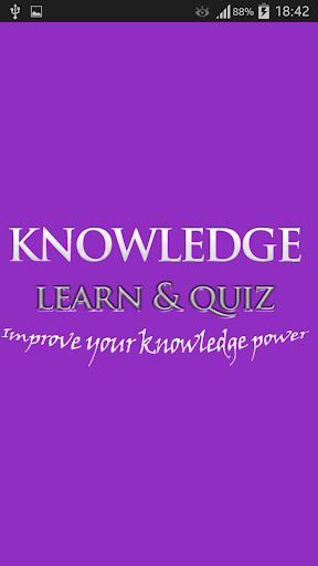 Quizzes of Knowledge