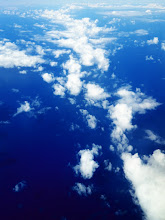 Photo: Clouds, view from Delta Flight 482 (JFK - Punta Cana) over North Atlantic Ocean
