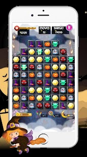 witch puzzle match game- screenshot thumbnail