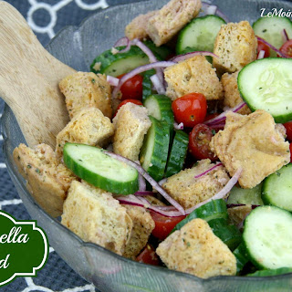 Panzanella Salad- LeMoine Family Kitchen