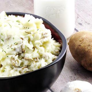 Perfect Garlic Mashed Potatoes.