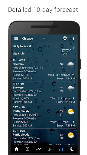3D Flip Clock & Weather 5.77.0.2 screenshots 14