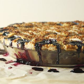Classic Lattice-Top Wild Blueberry Pie