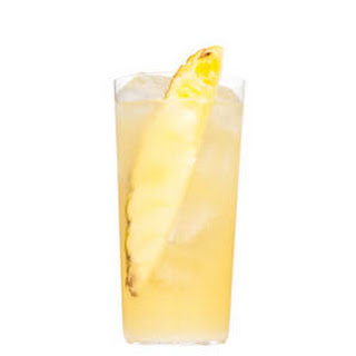Pineapple, Lime, and Coconut Spritzer.