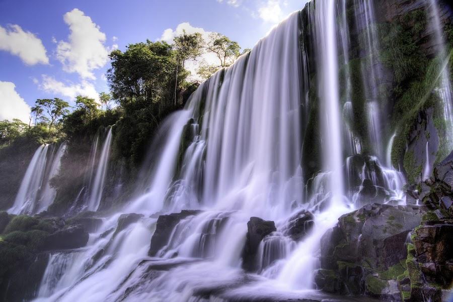 Iguazu Falls by Wei Hao Ho - Landscapes Waterscapes