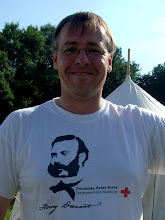 Photo: Börge mit themenpassendem T-Shirt.