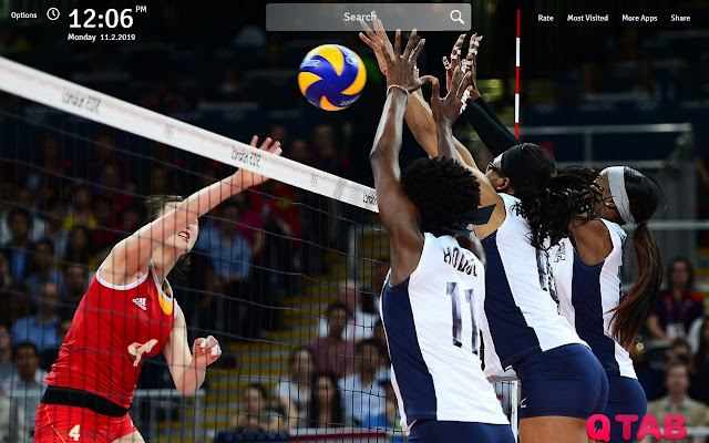 Volleyball Wallpapers Volleyball Game New Tab