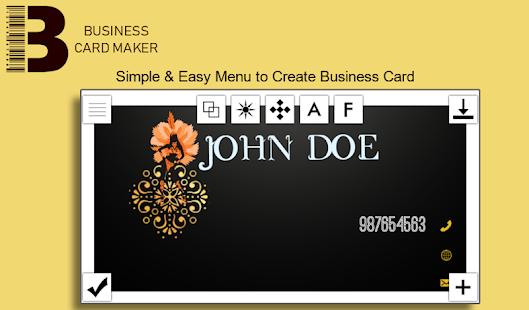 Baixar business card maker apk 10 apk para android negcios app business card maker apk apk captura de tela reheart Image collections