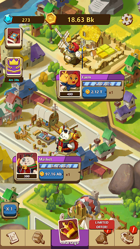 Kingdomtopia: The Idle King apkmr screenshots 6