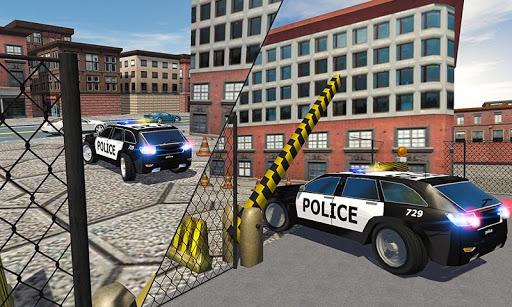 至尊警方停车场3D
