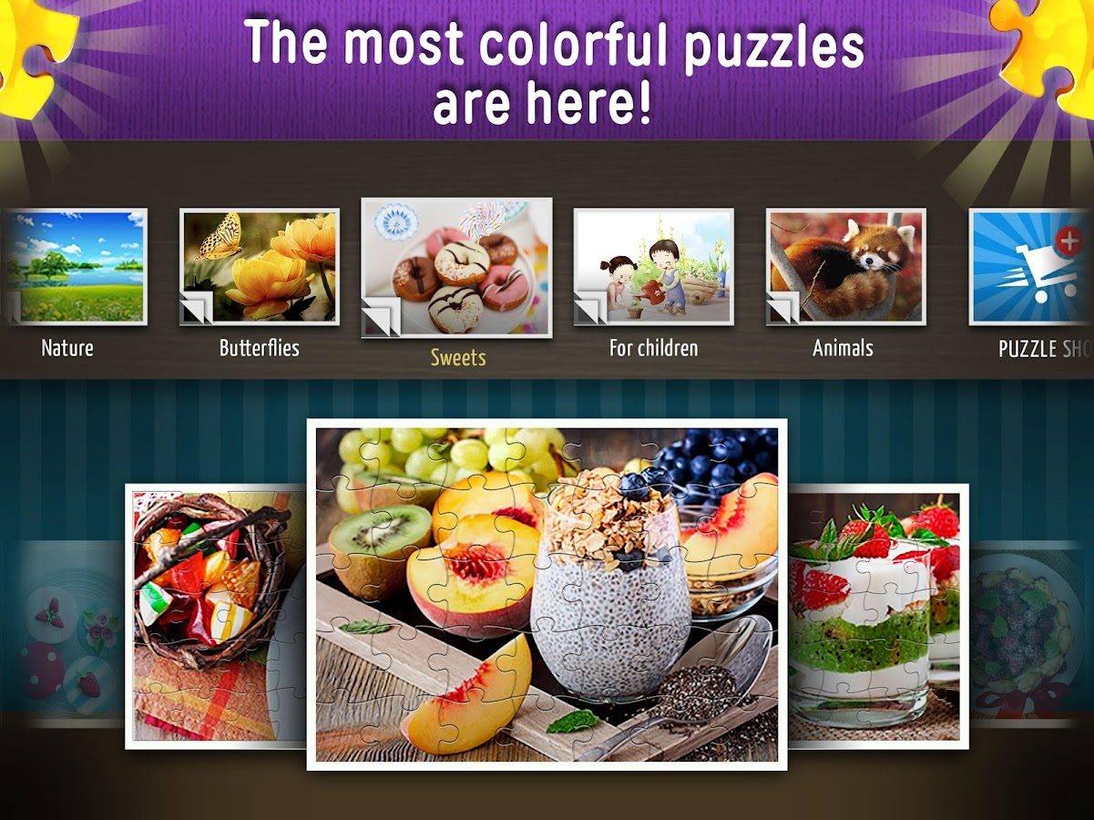 Jigsaw Puzzles World- screenshot