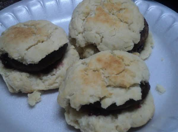 Morning Glory Sausage Biscuits