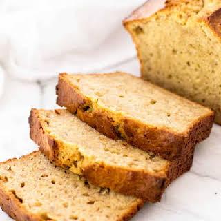 Peanut Butter Banana Bread.