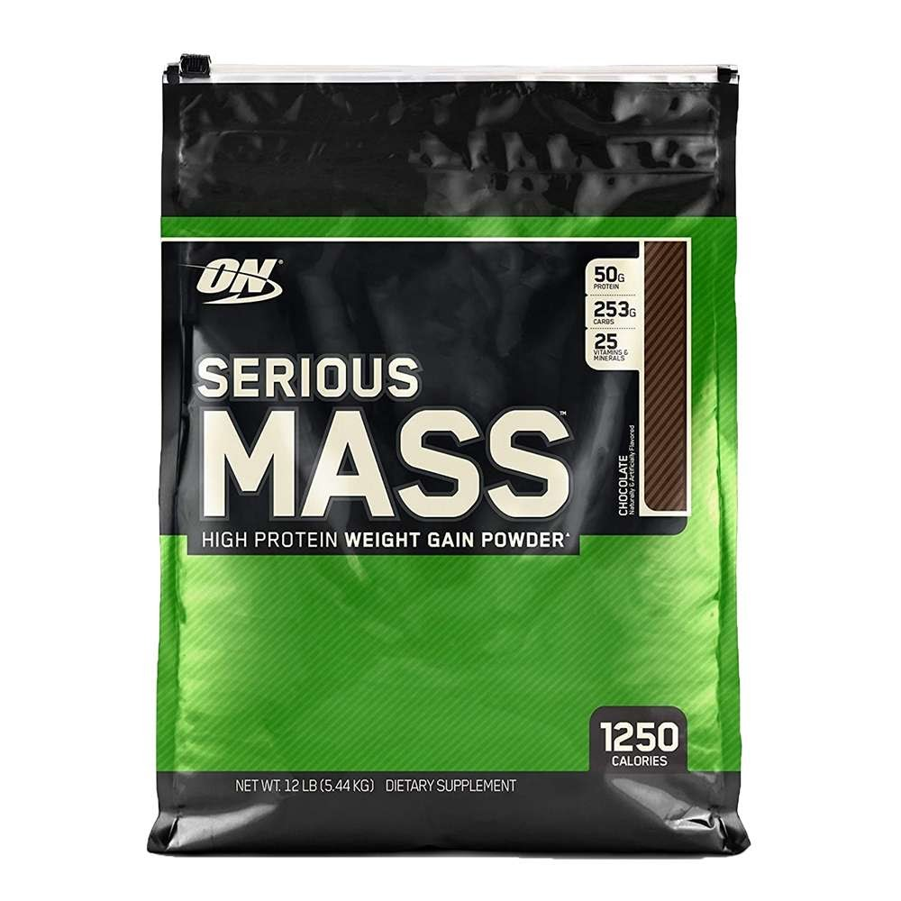 Serious Mass is 100% whey protein isolate and has no added sugar