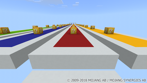 Lucky Blocks New Race MCPE map for PC