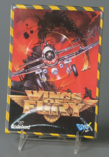Video game:CPC Amstrad Wings of Fury - Spanish Edition