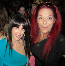 Photo: Julie Spira and Sex and the City stylist Patricia Field