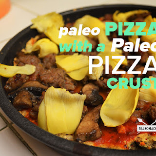 Paleo Pizza with a Paleo Pizza Crust