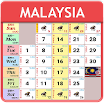 Malaysia Calendar 2018 - 2020 HD Icon