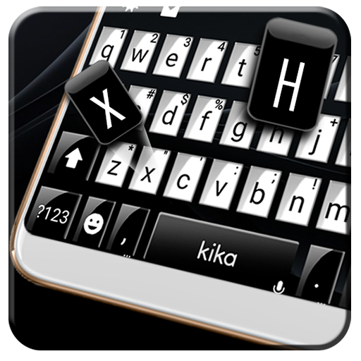Classic Business Black Keyboard Theme Icon
